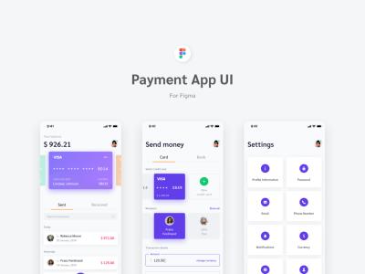 支付app ui模板.fig素材下载