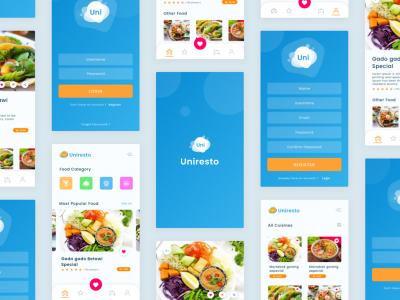 Uniresto App UI .fig素材下载