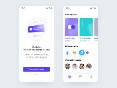 在线学习app ui .fig素材下载