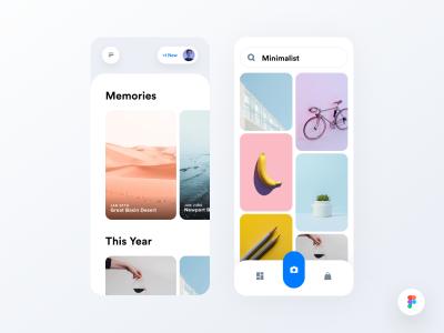 app 图片列表页面 .fig素材下载