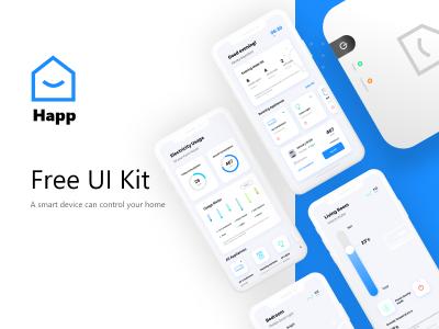 Smart Home 智能家居App ui .xd素材下载