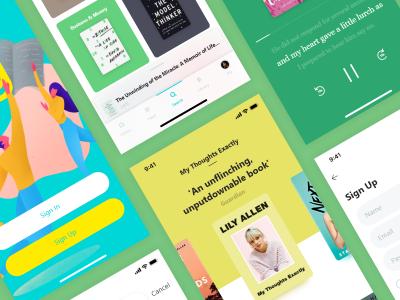 读书app 图书商城app ui .xd素材下载