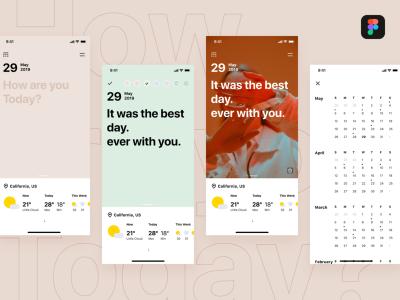 天气app ui .fig素材下载
