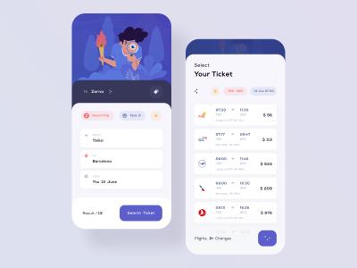 购票app ui .sketch素材下载
