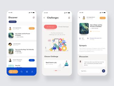 图书交换交易app ui .sketch素材下载