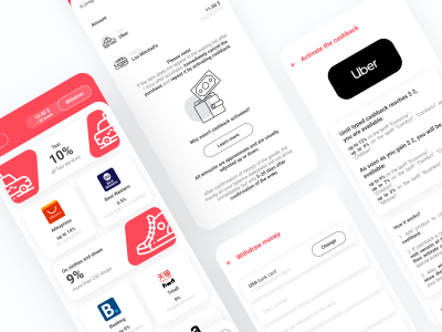 购物返利app ui .fig素材下载
