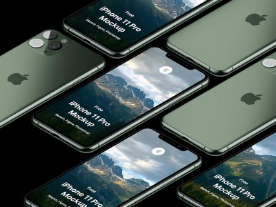 iphone 11 pro mockup .sketch .psd .fig素材下载