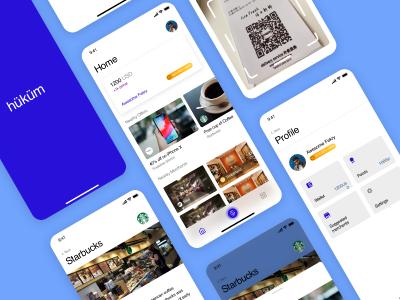 成套wallet钱包app ui hukum .sketch素材下载
