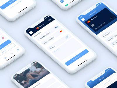信用卡钱包wallet app .fig素材下载