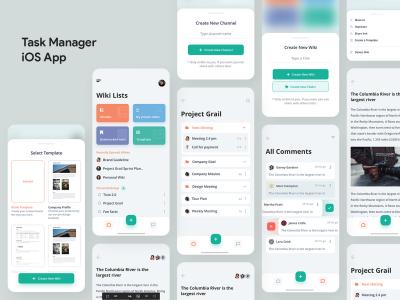 任务管理app ui .sketch素材下载