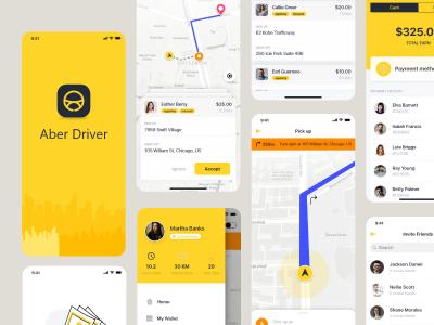 类似滴滴的租车app ui .xd素材下载