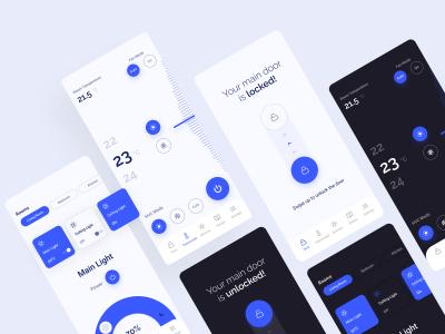 智能家居控制app ui .fig素材下载