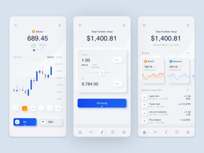 数字货币钱包app ui .sketch .fig素材下载