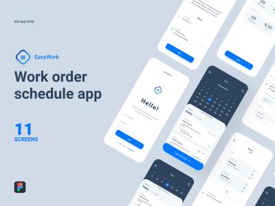 日程安排app ui .fig素材下载