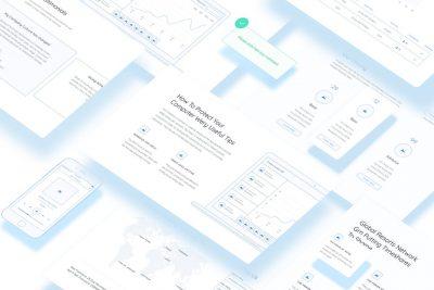 Method Wireframe Kit 网页设计线框图模板 .sketch素材下载