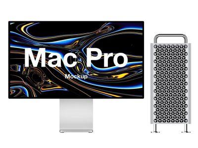 Mac Pro Mockup .sketch .psd .fig素材下载