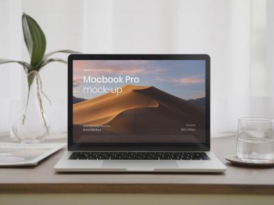 macbook pro 样机mockup .psd素材下载