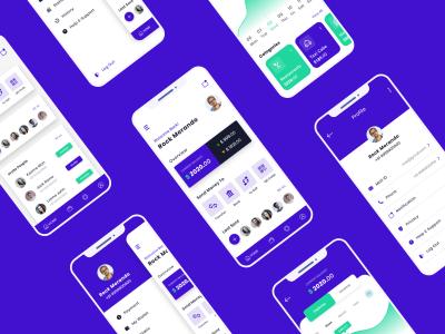 支付钱包app ui .xd素材下载