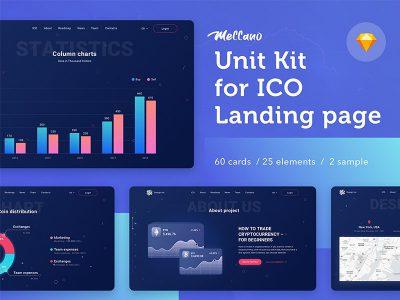 Unit kit ICO成套网页素材 .sketch素材下载
