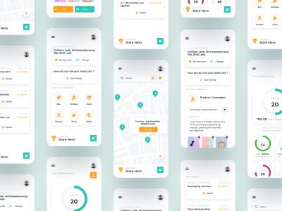app ui 展示贴图样机 .xd素材下载