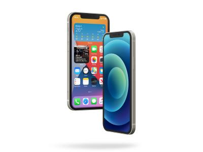 全色系、三个角度iphone 12 mockup样机 .psd素材下载