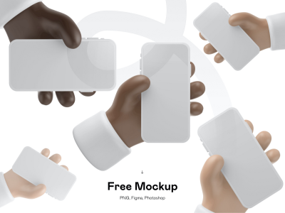 3D iPhone 12 Mockup .fig .psd素材下载