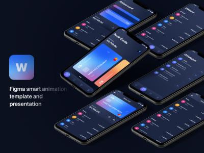 金融app 交互设计 ui & 样机mockup .fig素材下载