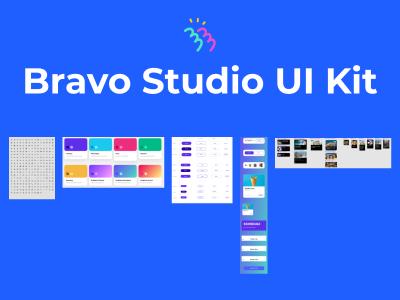 Bravo Studio UI Kit .fig素材下载