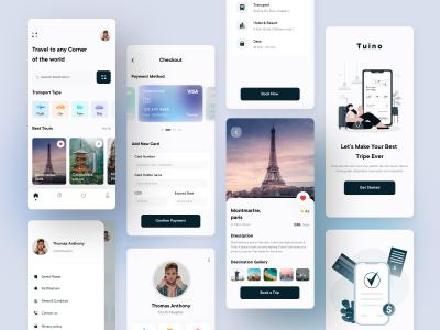 旅行app ui .fig素材下载