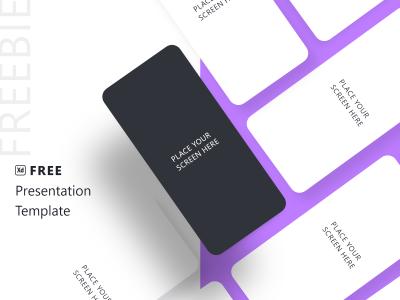 app ui展示模板.xd素材下载