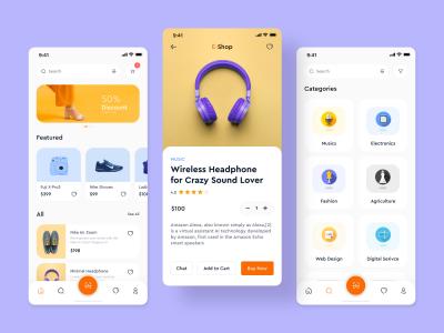 简洁电商app ui .fig素材下载