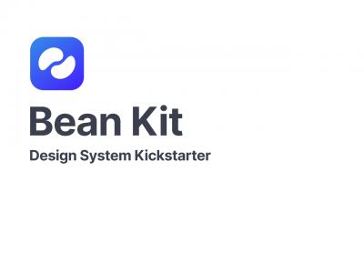 Bean UI Kit 设计系统 .fig素材下载