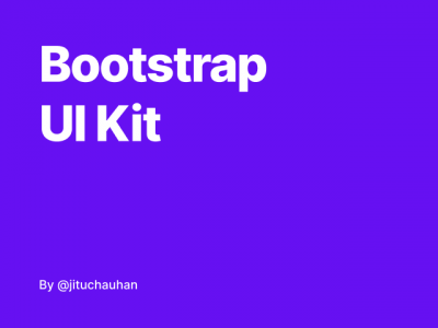 Bootstrap UI Kit .fig素材下载