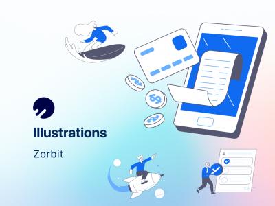 Zorbit 500+app实用插画 .fig素材下载