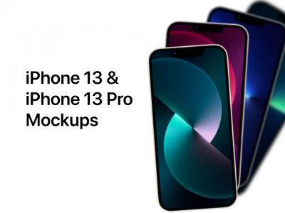iPhone 13 · 13 Pro  矢量样机 mockup .fig素材下载
