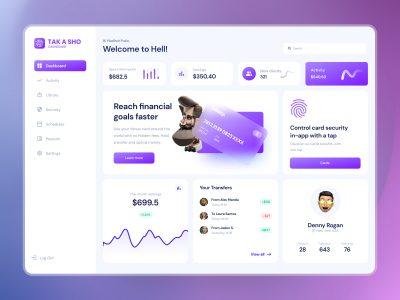 Dashboard Web App .fig素材下载