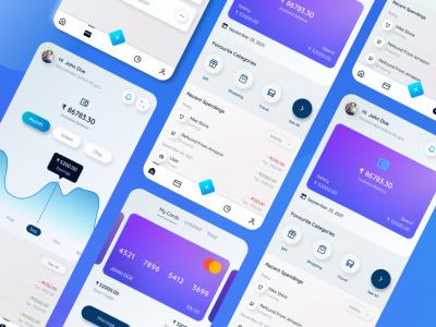 个人消费记账app ui .fig素材下载
