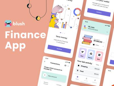 插画应用场景金融app ui  .fig素材下载