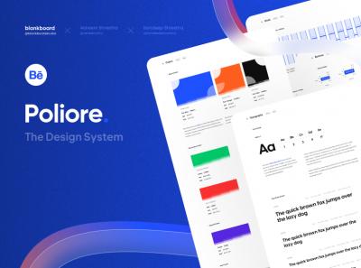 Project Poliore : UI设计系统 .fig素材下载